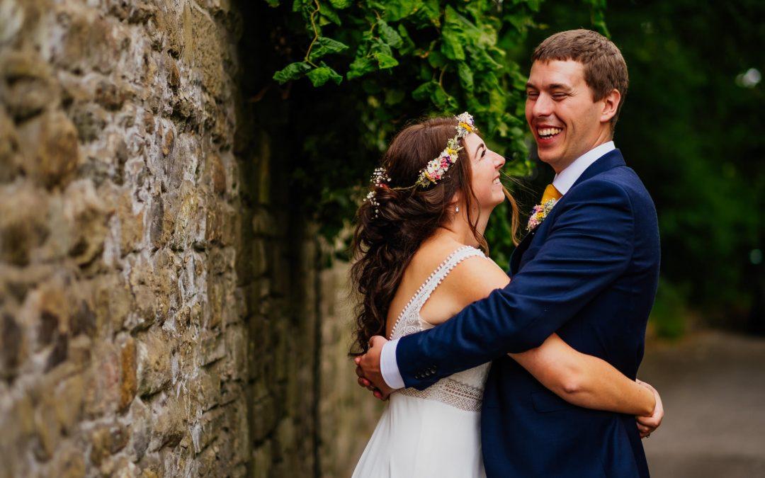 Hazel and Marc's Cubley Hall Boho Wedding