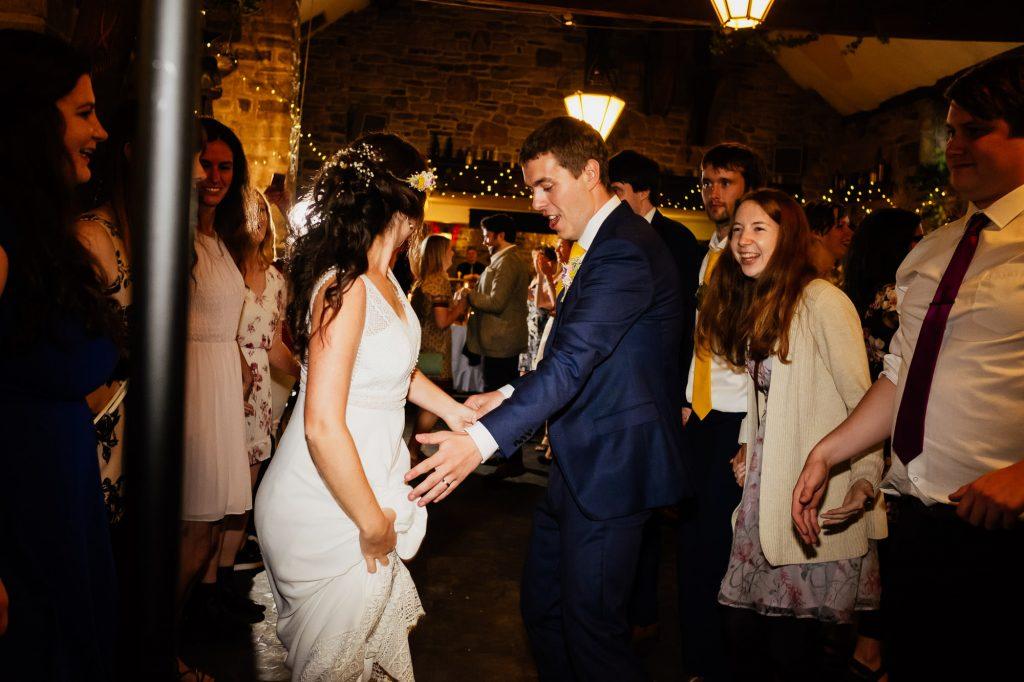 Wedding barn ceilidh