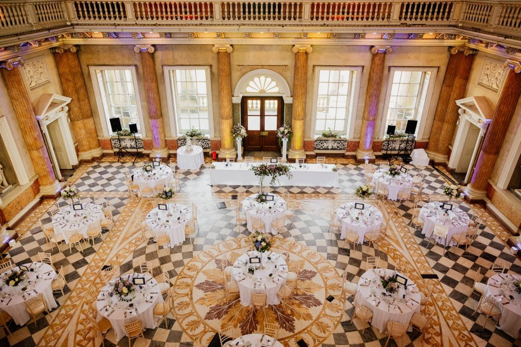 Grade 1 listed wedding venue reception