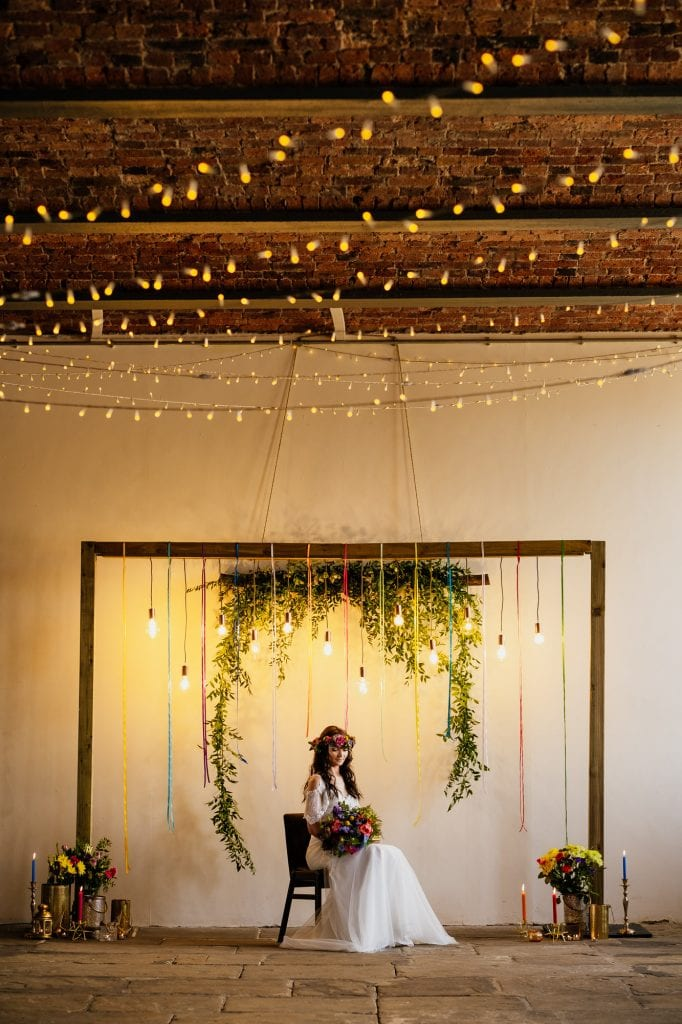 exposed brick wedding venue