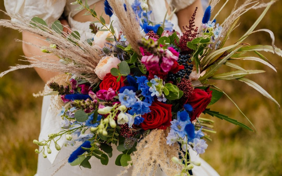 Colourful Bouquet Ideas and Advice | Wedding Flowers